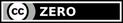 Licenza CC Zero - Pubblico dominio